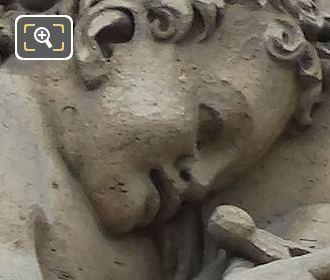 Genie De l'etude Ecrivant Sculpture By Jean Goujon