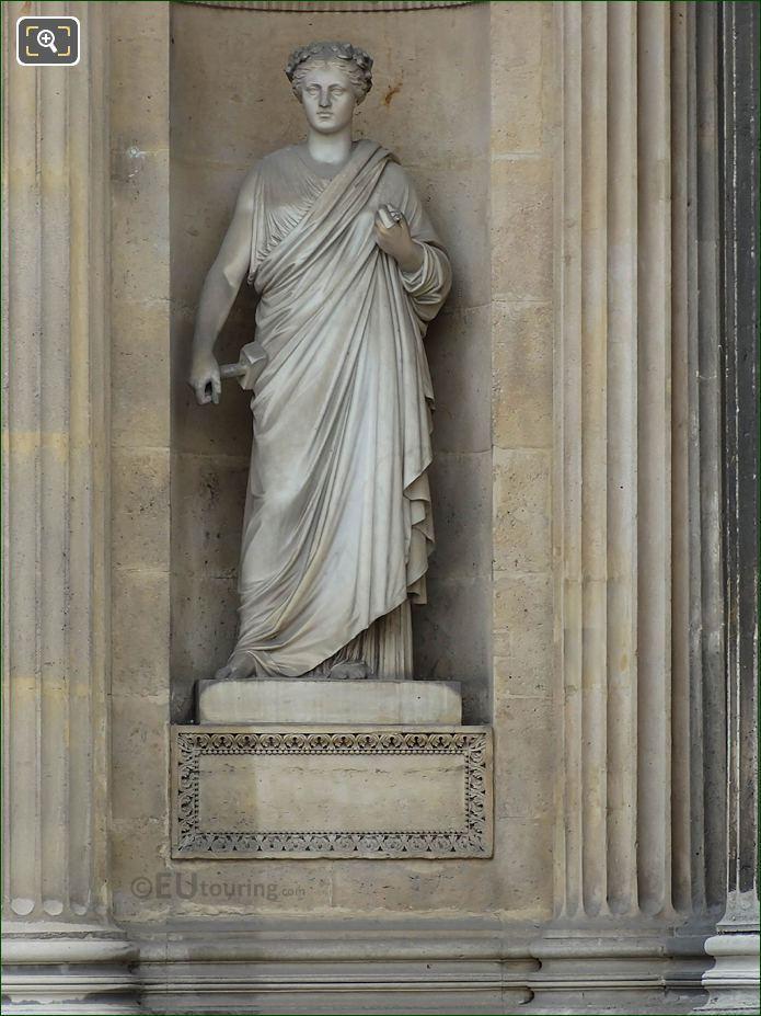 La Sculpture Aile Lescot Musee Du Louvre