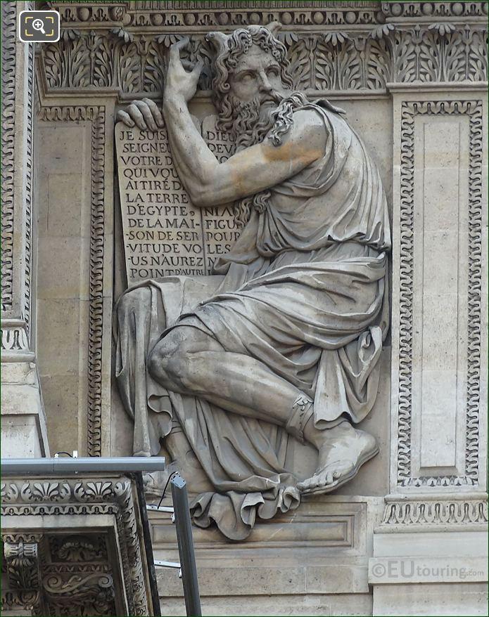 Moses Statue By Jean Moitte On Aile Lemercier
