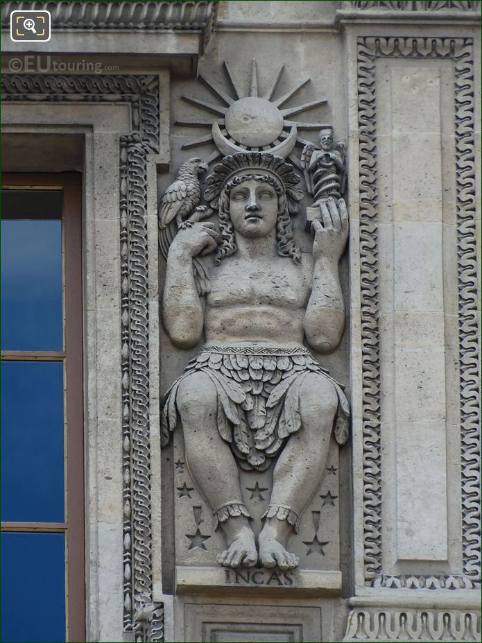 Incas Sculpture By Sculptor Jean Guillaume