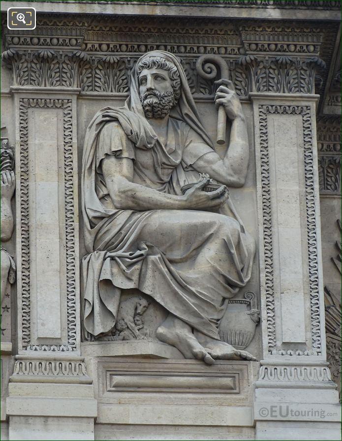 Numa Sculpture Aile Lemercier Musee Du Louvre