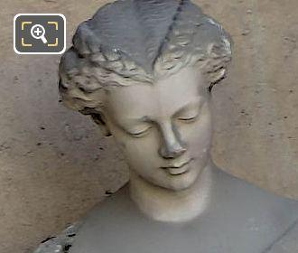 Marble L'Orfevrerie Statue By Roland Mathieu-Meusnier
