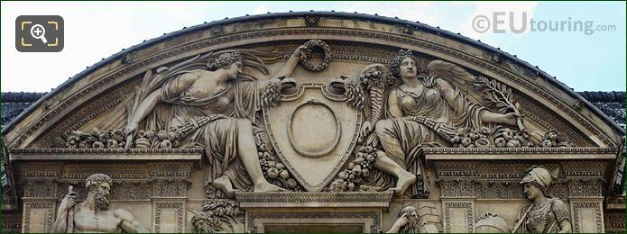 Victoire Et Abondance Sculpture Aile Lemercier Musee Du Louvre