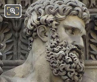 Hercules Sculpture By Philippe Laurent Roland