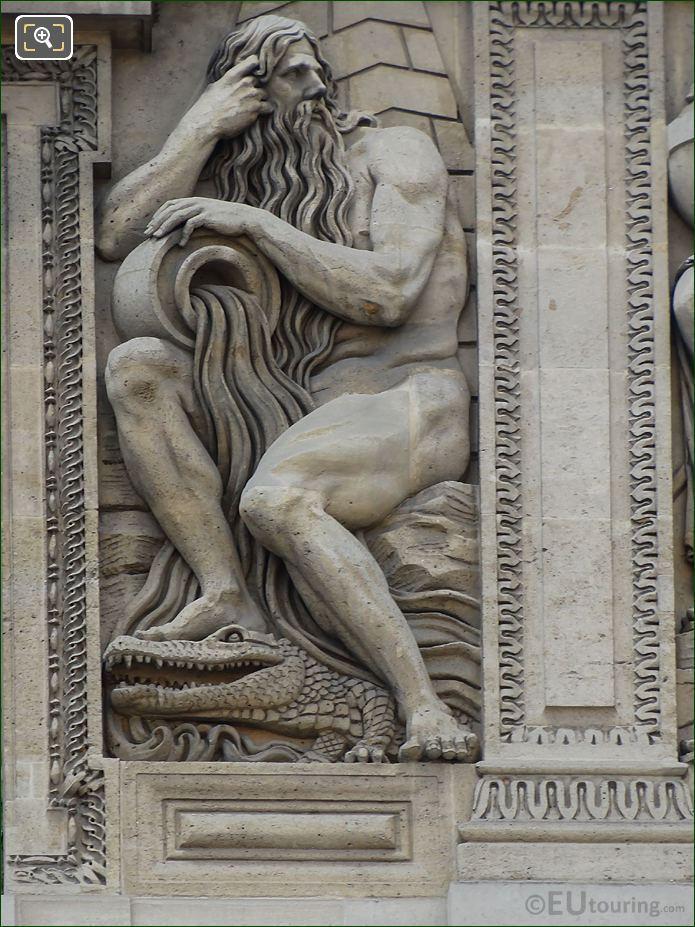 Nile Sculpture Aile Lemercier Louvre