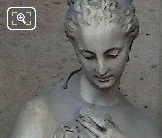 Marble La Douceur Statue By Jean Esprit Marcellin