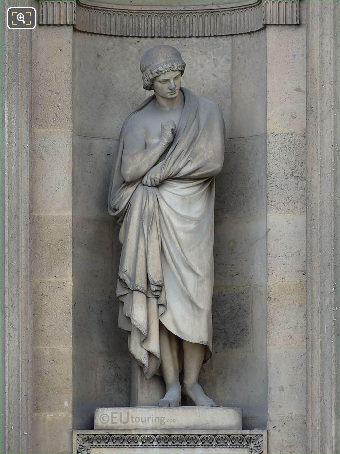 Aristarque Statue Aile Lemercier Musee Du Louvre