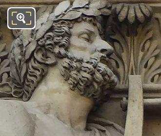 Homer Statue By Sculptor Antoine Denis Chaudet