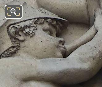 Guerre Sculpture By Sculptor Antoine Denis Chaudet