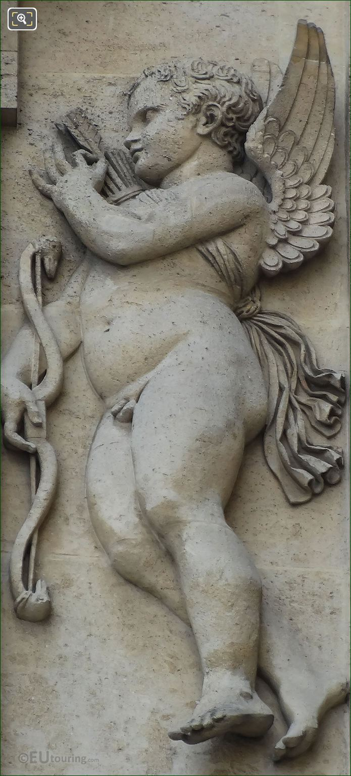 Amour Sculpture By Sculptor Antoine Denis Chaudet