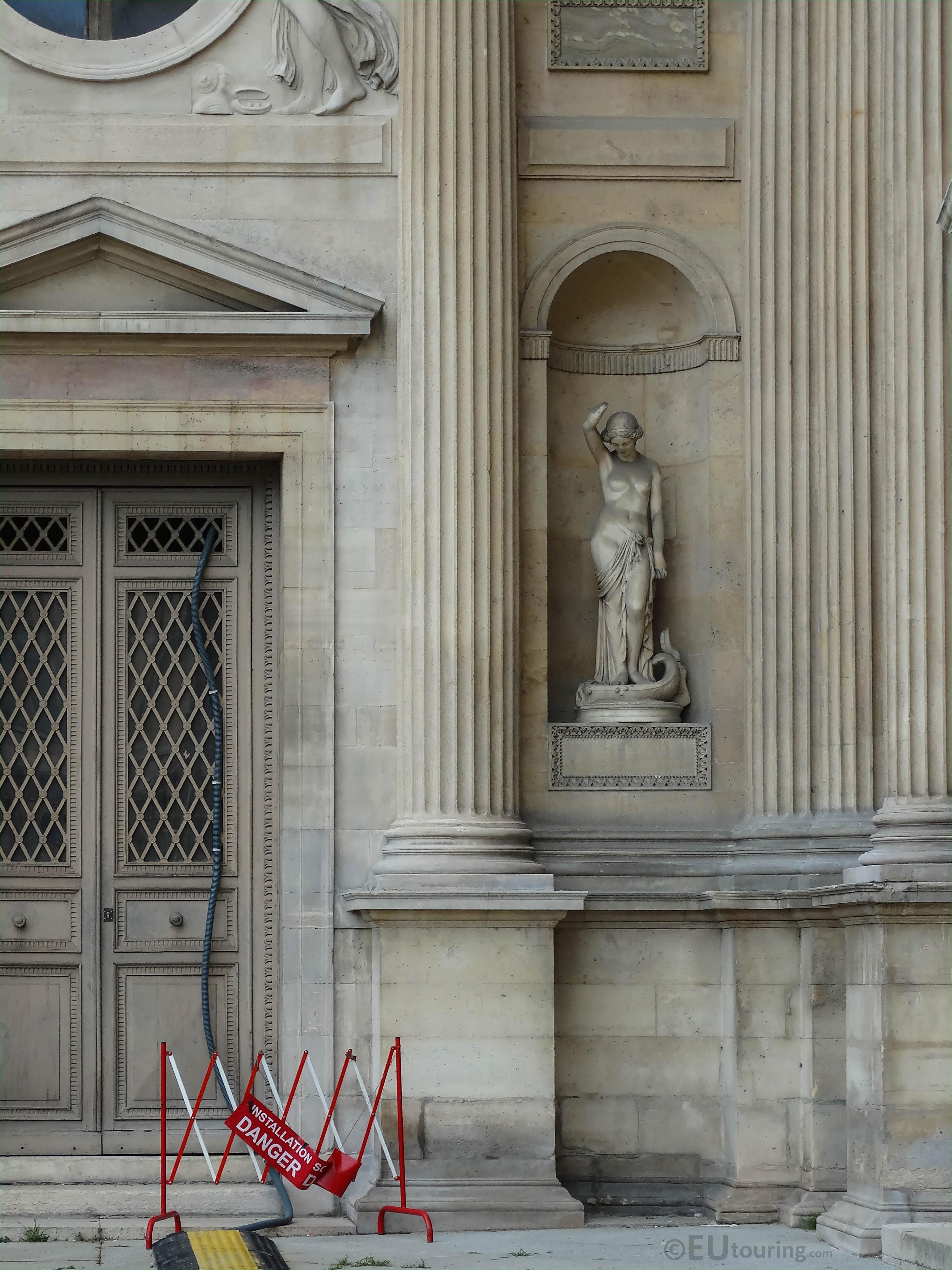 Le Fleuve De La Vie Statue On Aile Lemercier At The Louvre