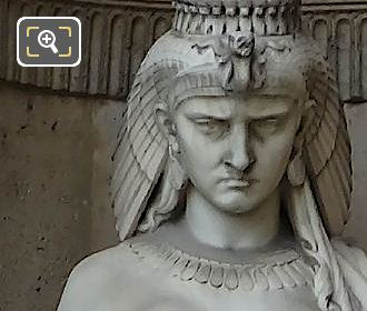 Cleopatra Statue By Francois Auguste Fanniere