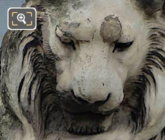Lion Statue By Sculptor Emmanuel Fremiet