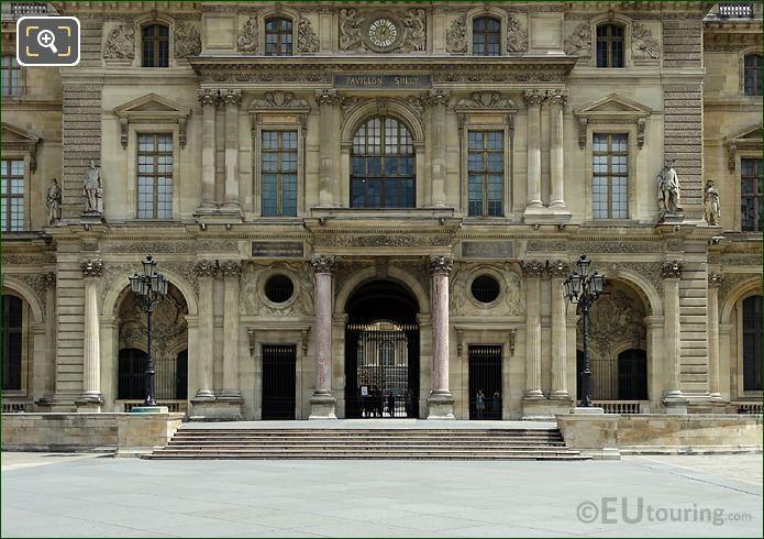 Lower Floors Pavillon Sully Musee Du Louvre