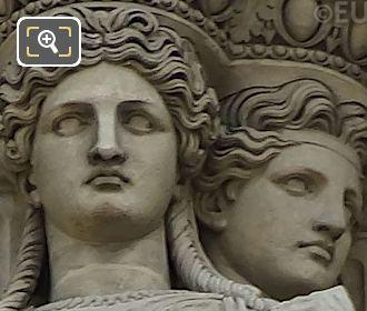 Caryatid Sculptures By Francisque Duret