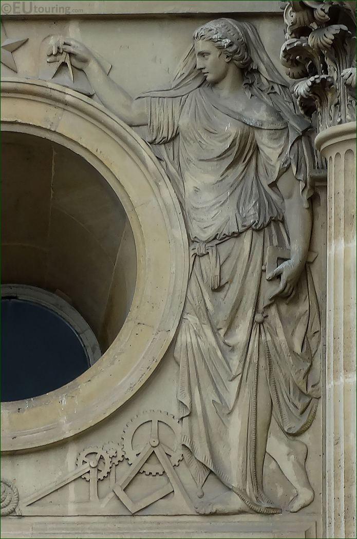 La Mecanique Sculpture By Joseph Michel Ange Pollet
