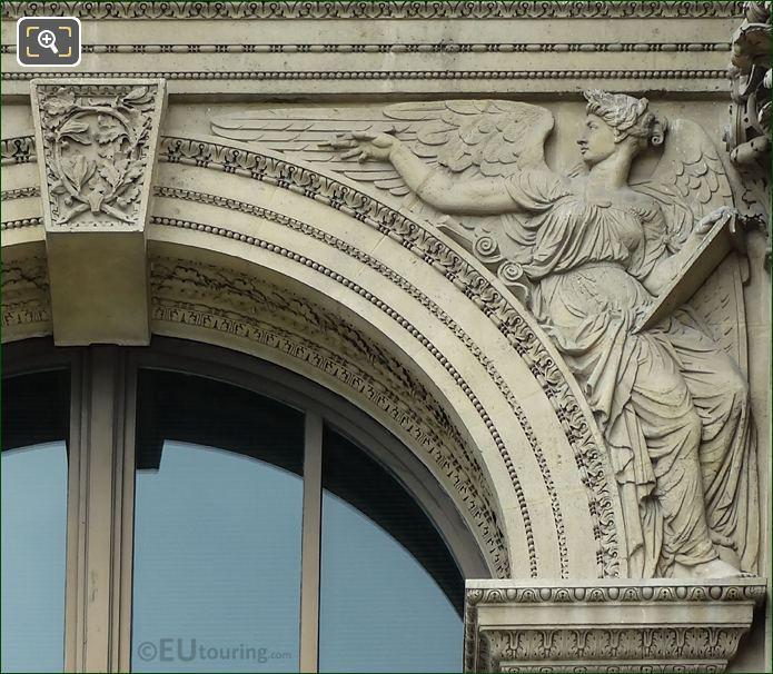 Histoire Sculpture Pavillon Richelieu