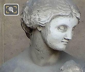 Marble Helene Statue By Antoine Etex