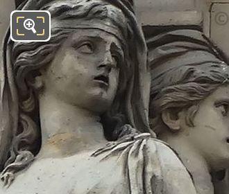 Caryatid Sculptures By Sculptor Gilles Guerin
