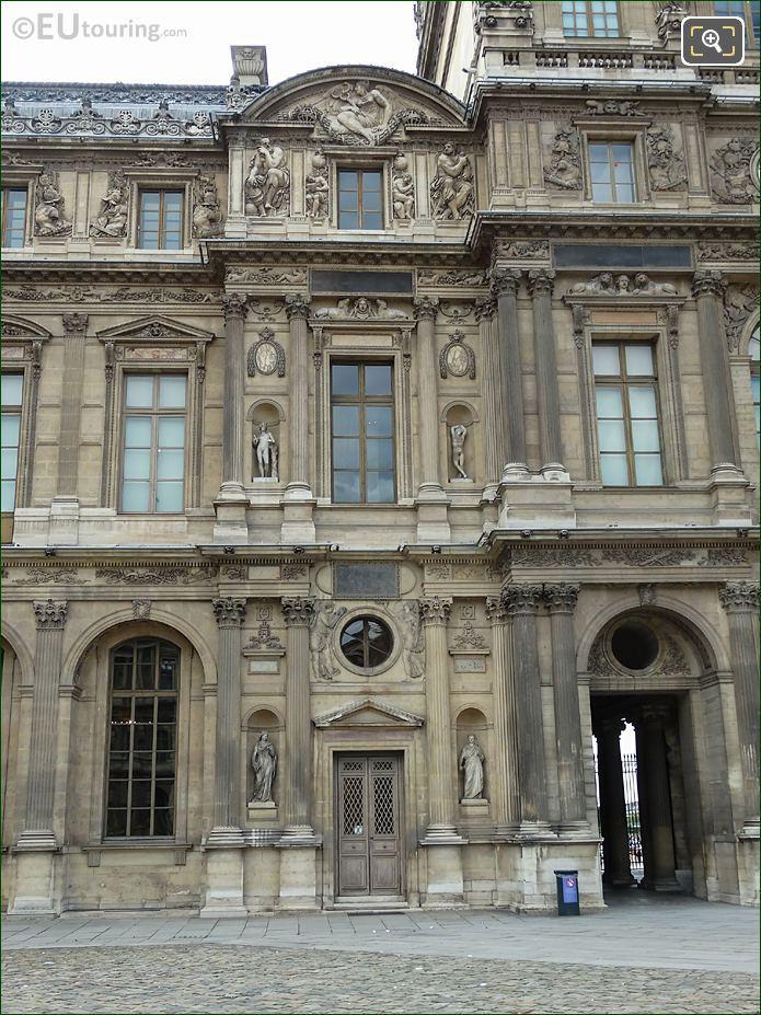 RHS East Facade Aile Lescot Musee Du Louvre
