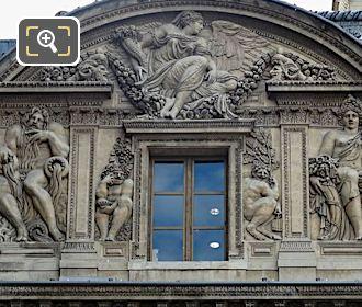 Bacchus Sculpture Aile Lescot Musee Louvre