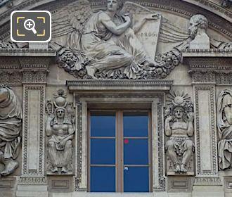Isis Sculpture 3rd Floor Facade Aile Lemercier