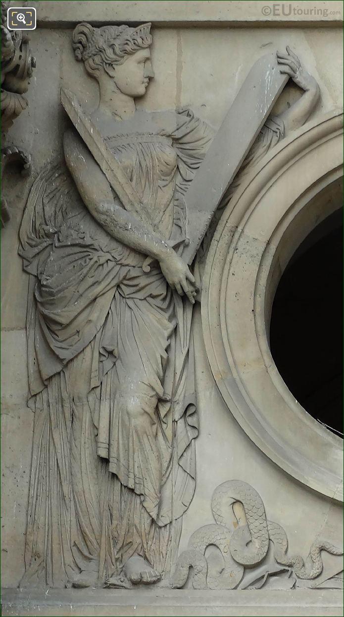 La Justice Sculpture By Joseph Felon