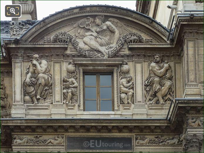 Aile Lescot 3rd Floor Archimedes Sculpture