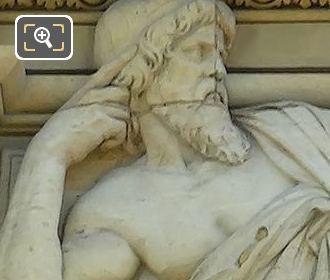 Left Hand Side Bas Relief Sculpture By Gabriel Jules Thomas On Aile De Marsan