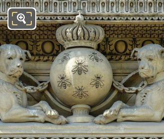 LHS Groupe d'Animaux Statue By Emmanuel Fremiet