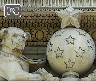 Aile de Marsan Groupe d'Animaux sculpture by Emmanuel Fremiet