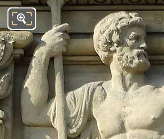 Fourth Window Bas Relief Sculpture By Artist Jules Franceschi