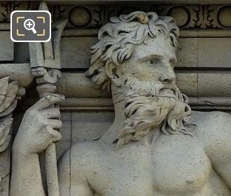 6th Window LHS Bas Relief Sculpture By Henri Charles Maniglier