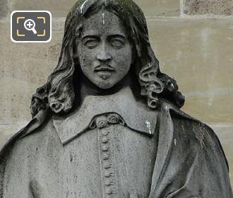 Charles Perrault Statue By Artist Auguste Hyacinthe Debay