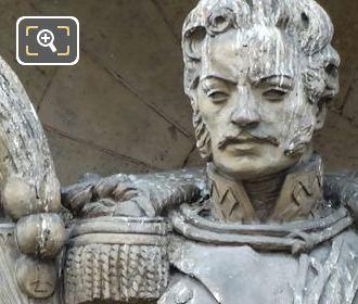 Jozef Poniatowski statue by Philippe Besnard