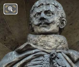 Comte De Lasalle Statue By Louis Busson