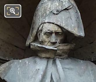 Bon-Adrien Jeannot de Moncey statue by artist Felix Alexandre Desruelles