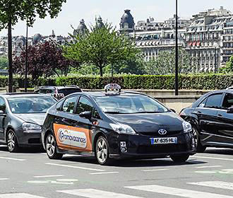 Booking Taxis In Paris