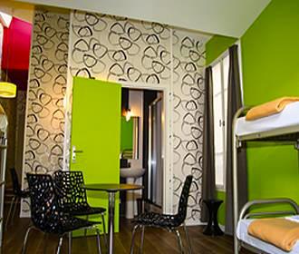 Loft Boutique Hostel dorm room