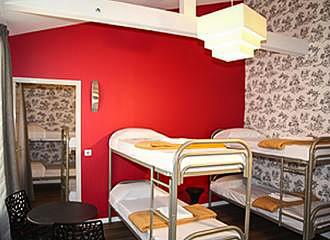 Loft Boutique Hostel bunk beds