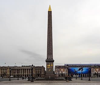 Luxor Obelisk Monument In Paris
