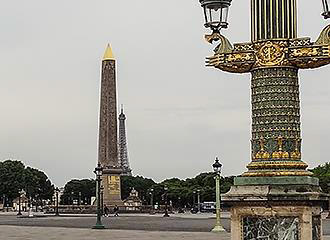 Luxor Obelisk In Paris