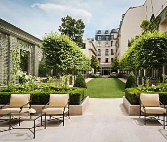 The Ritz Paris Hotel Courtyard