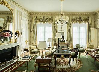 The Ritz Paris Suite Vendome Lounge