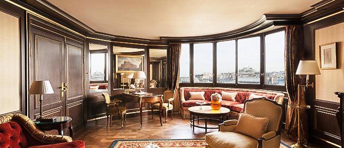 The Ritz Paris Suite Opera Lounge