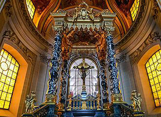 Altar Near The Tomb Of Napoleon