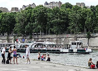 Vedettes Pont-Neuf Boat Cruise Route