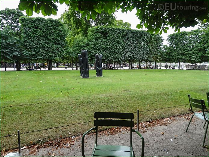 Grande Verte Nord-Ouest Bosquet In Jardin Des Tuileries Looking South West