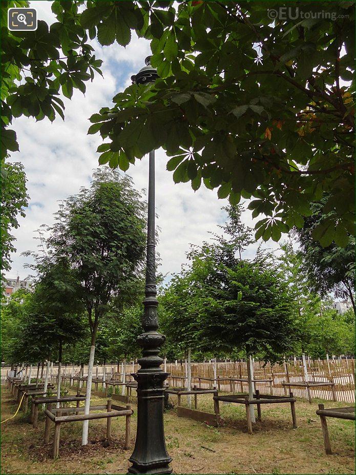 Bosquet Nord-Est Garden Inside Jardin Des Tuileries Looking North East
