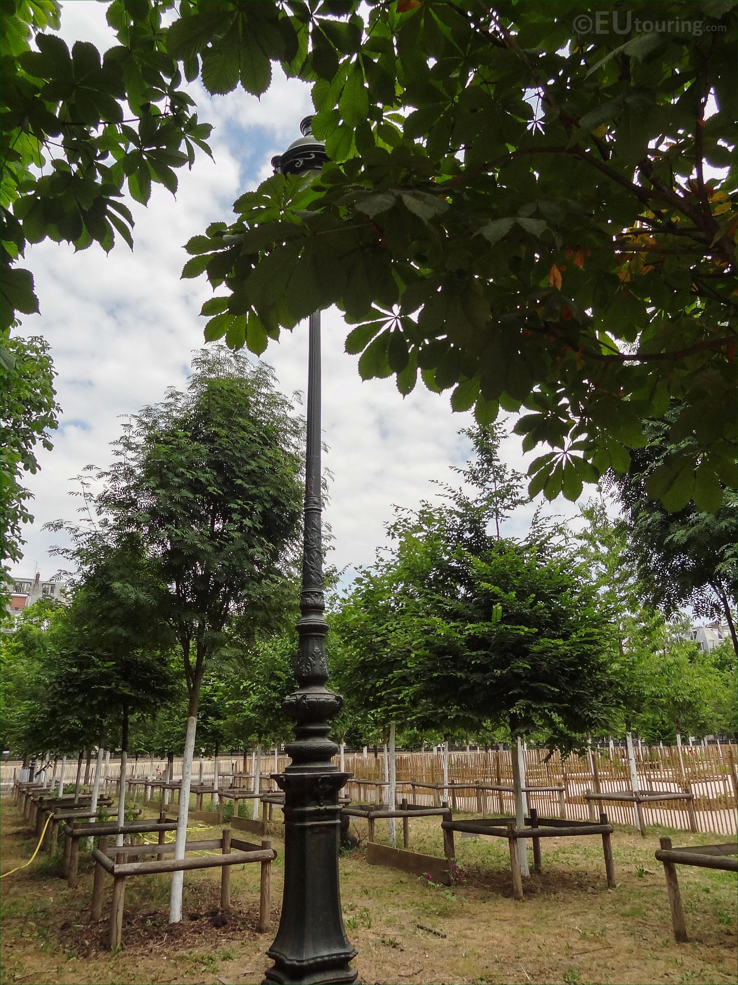 Bosquet Nord Est Inside Jardin Des Tuileries Looking Ne